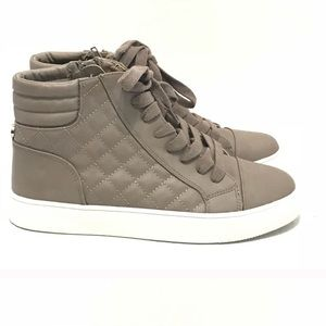 Taupe Steve Madden High Tops